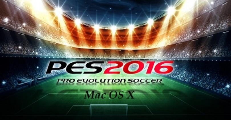 PES 2016 Mac OS X