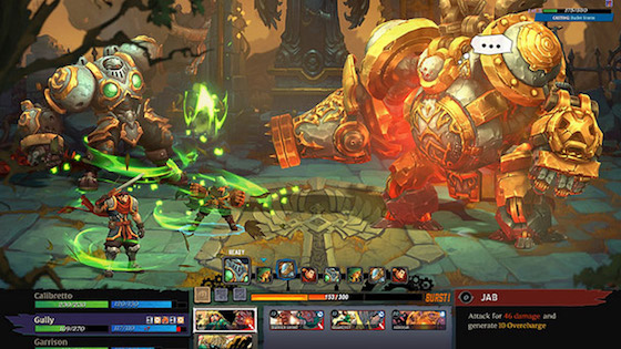 Battle Chasers Nightwar Mac OS X