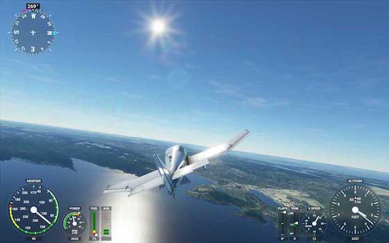 Microsoft Flight Simulator Mac OS X