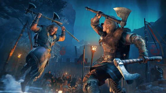 Assassin's Creed Valhalla Mac OS X